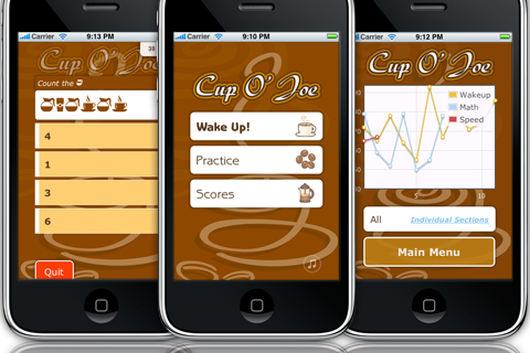 Screenshot Cup O' Joe : Fun Brain Training