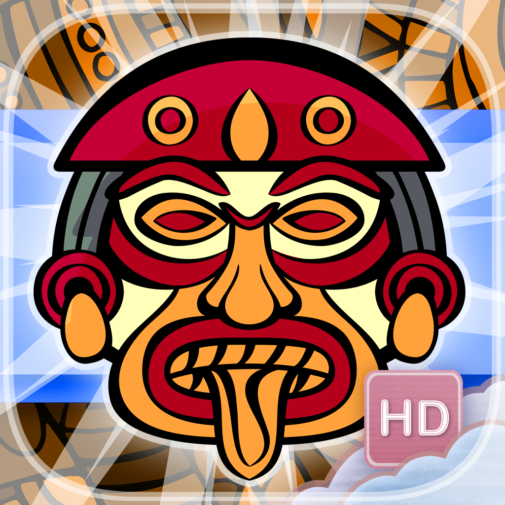Aztec Flow - HD - PRO - Connect Matching Aztec Signs Ancient Civilization Puzzle Game
