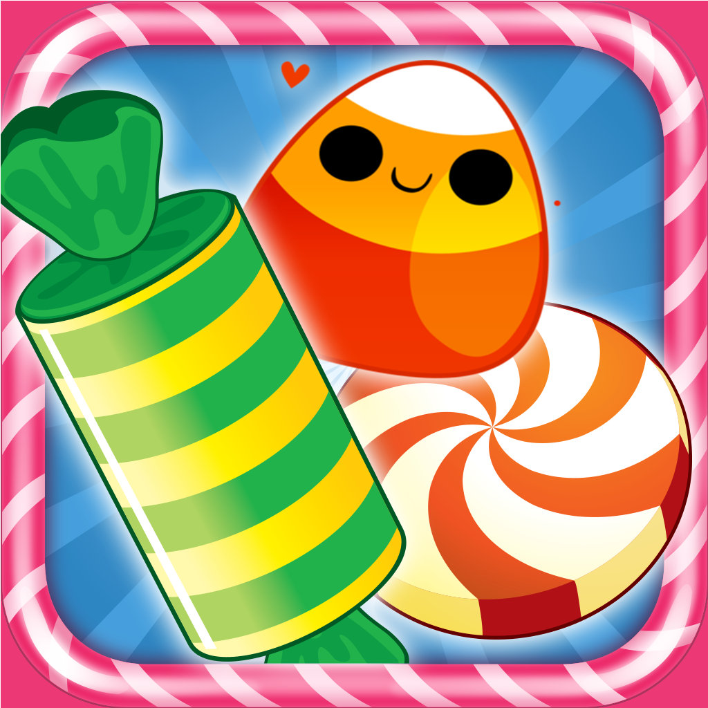 A Candy Crunch Magic - Sweet Diamonds Puzzle Game Saga