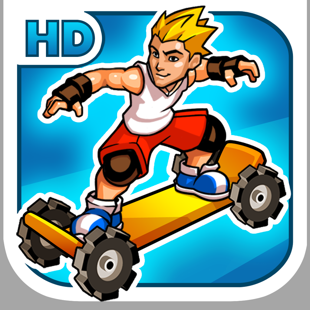 Extreme Skater HD iOS